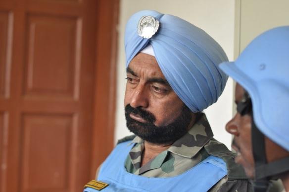 Indian commander