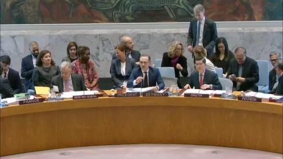 Maas at Security Council
